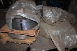 (4) ROLLS OF WIRE FEED