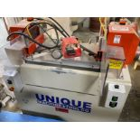 UNIQUE 313 MITRE DOOR MACHINE, 5HP, S/N 034110031 3, 230V