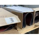"(3) BOXES OF 36"" WIDE SANDNG BELTS"