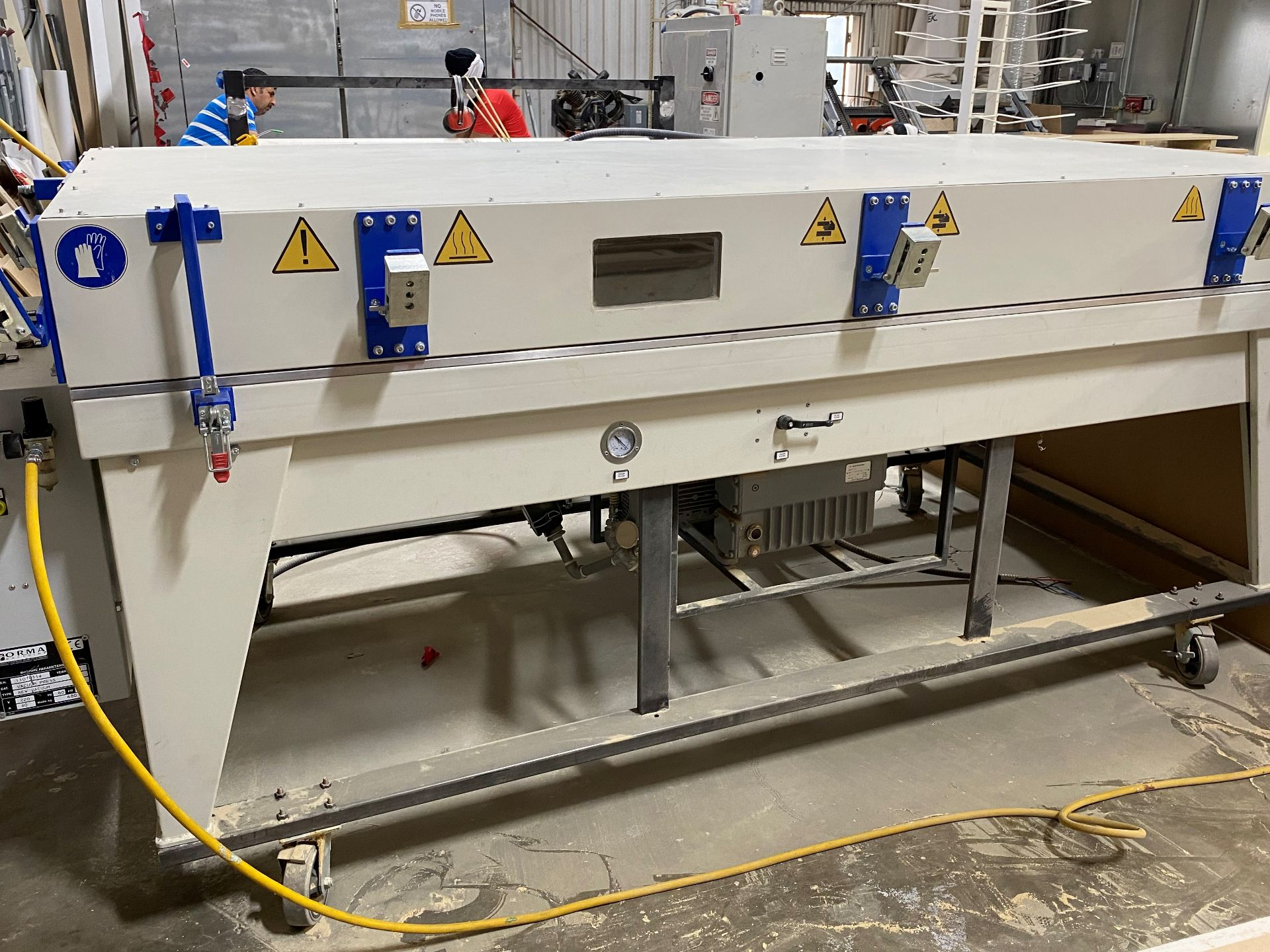 "'14 ORMA 11070114 VACUUM PRESS, 9' X 52"", 220V, 60HZ, 9 KW"