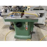 GENERAL 40-350MI VERTICAL SPINDLE SHAPER, 5HP, 1PH, 220V, W/ CLAMP