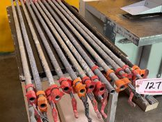 (12) 6' PIPE CLAMPS