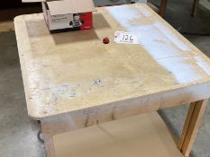 PORTER CABLE 1001 ROLLING ROUTER TABLE