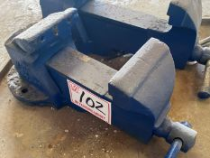RECORD #4 BENCH VISE