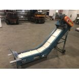 """Bilt-Rite 12"""" wide Cleated Inclined Conveyor"""
