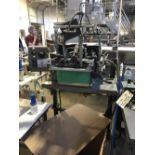 "Doboy Model JSL Header/Bag Sealer - Round Hole Punch - Vacuum Pump - 10"" Wide Sealing Jaws - Serial#"