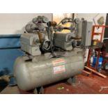 Busch RC0160.B032.1026 Vacuum Pump - Displacement 117 CFM - Vacuum 15 TORR - Serial No. C13520