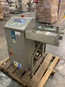 "Loma model AS Checkweigher, 110 volts with 5.5"" wide belt conveyor with air reject. Serial#"