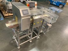 ACG PAM Stainless Steel Metal detector/Checkweigher, Model CW-1200, Checkweigher. Max weight 1kg,