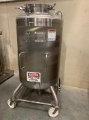 Mueller 750 liter 316 Stainless Steel Vacuum vessel with mixer (not jacketed) , model F, ser#