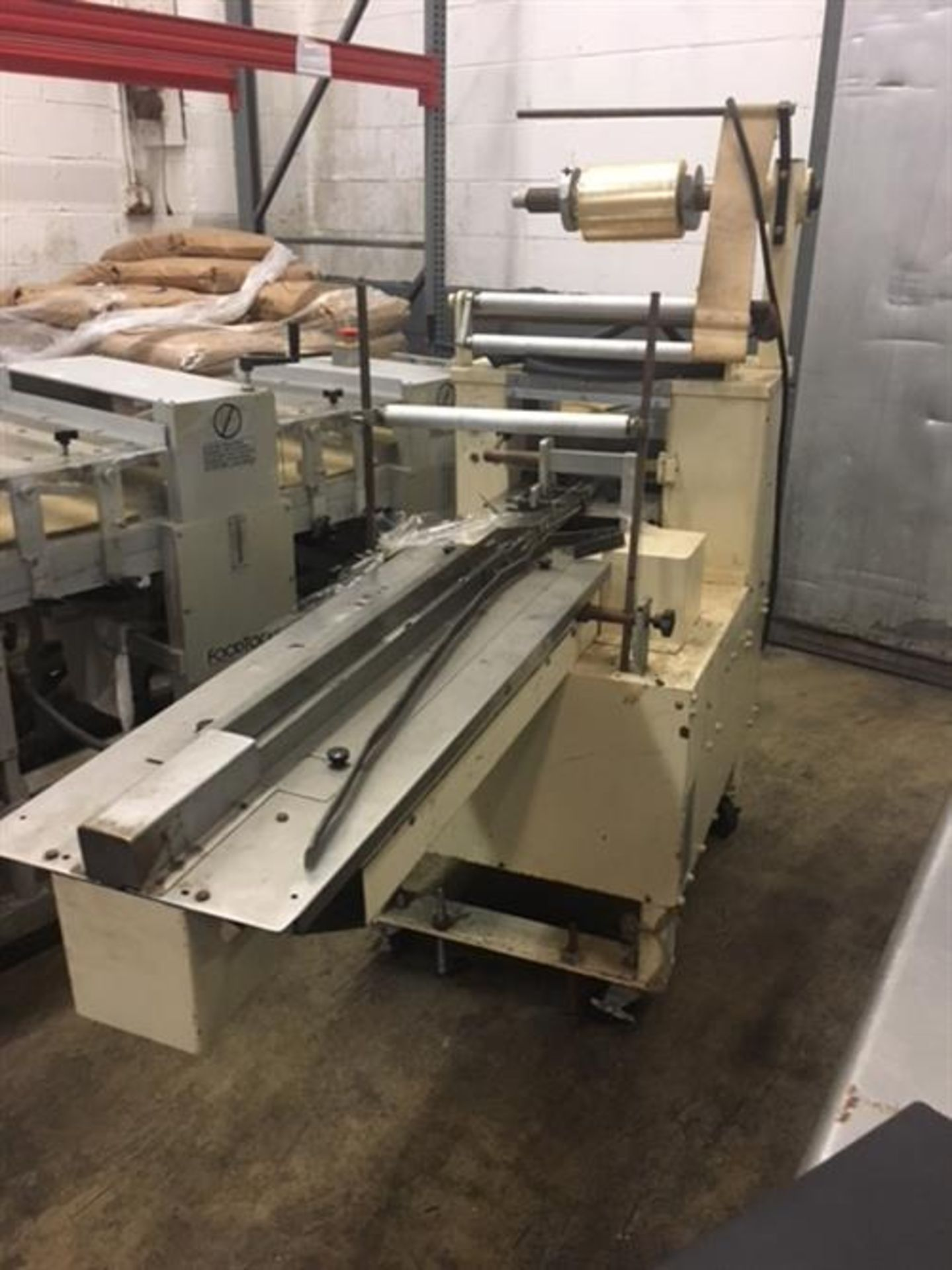 Doboy Scotty Horizontal Flow Wrapper - No electric eye (clear or continuous print cellophane film) - - Image 3 of 8