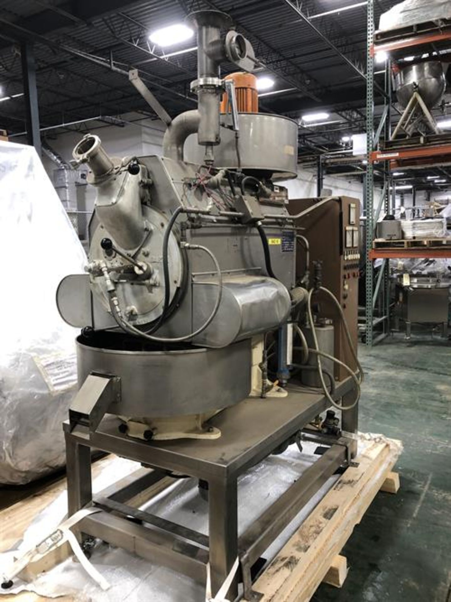 Barth Model LAB50RS 40-lb Cocoa Bean roaster - Approximately 40 lbs/batch capacity for unshelled - Image 5 of 29