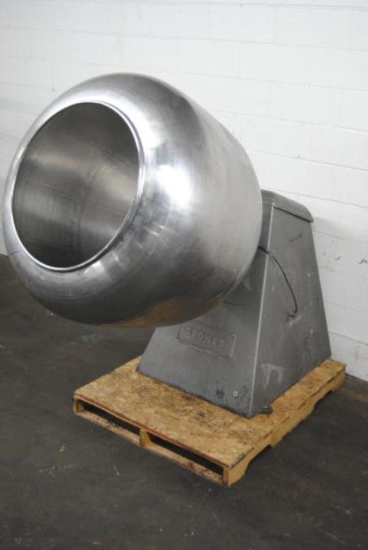 "Stokes 42"" Stainless Steel Grossing Pan"