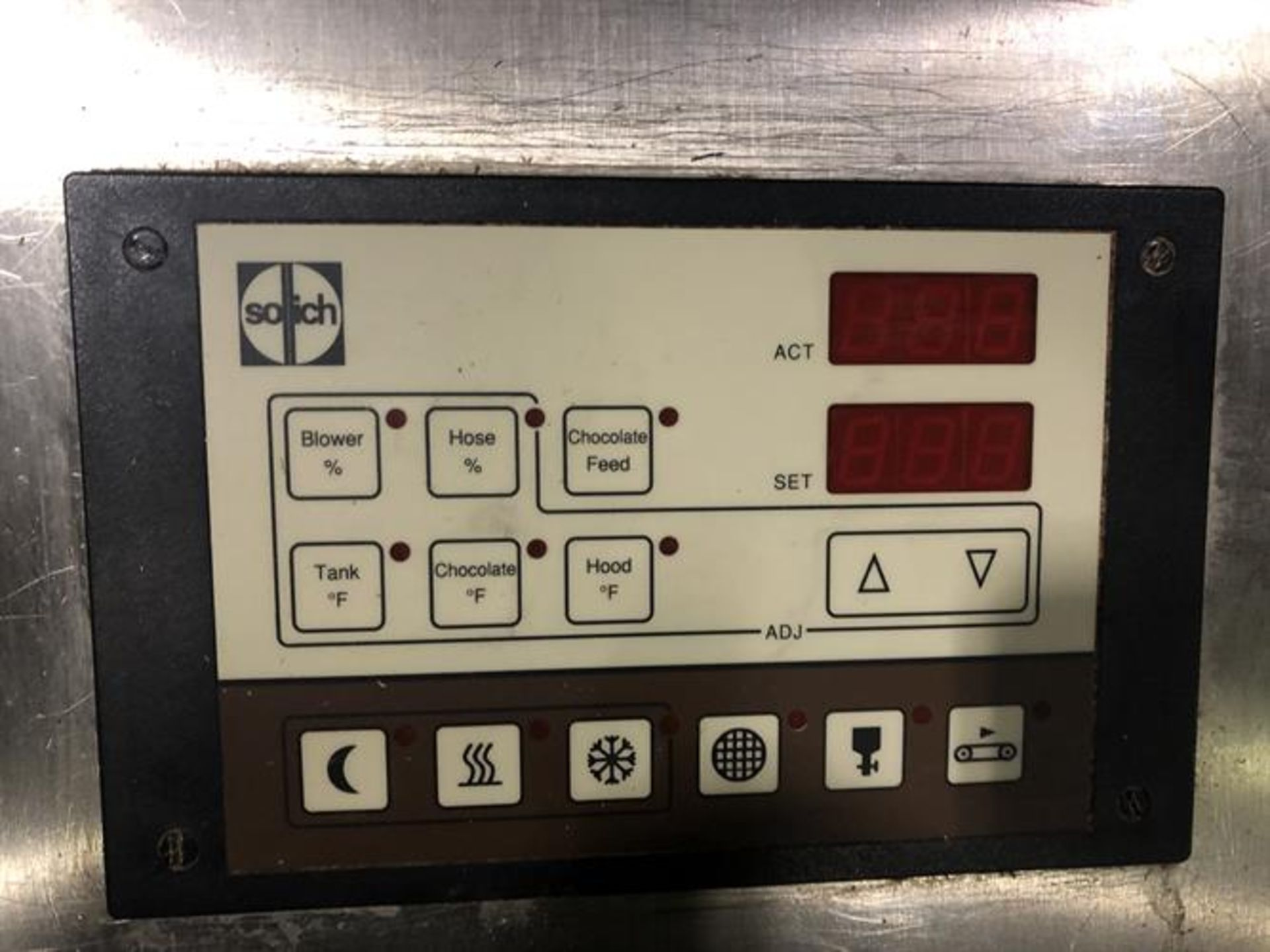 Sollich Model TF 100 Tempering Unit - Serial number 2682 - Built new in 1998 - 80kg/hour - Image 2 of 6