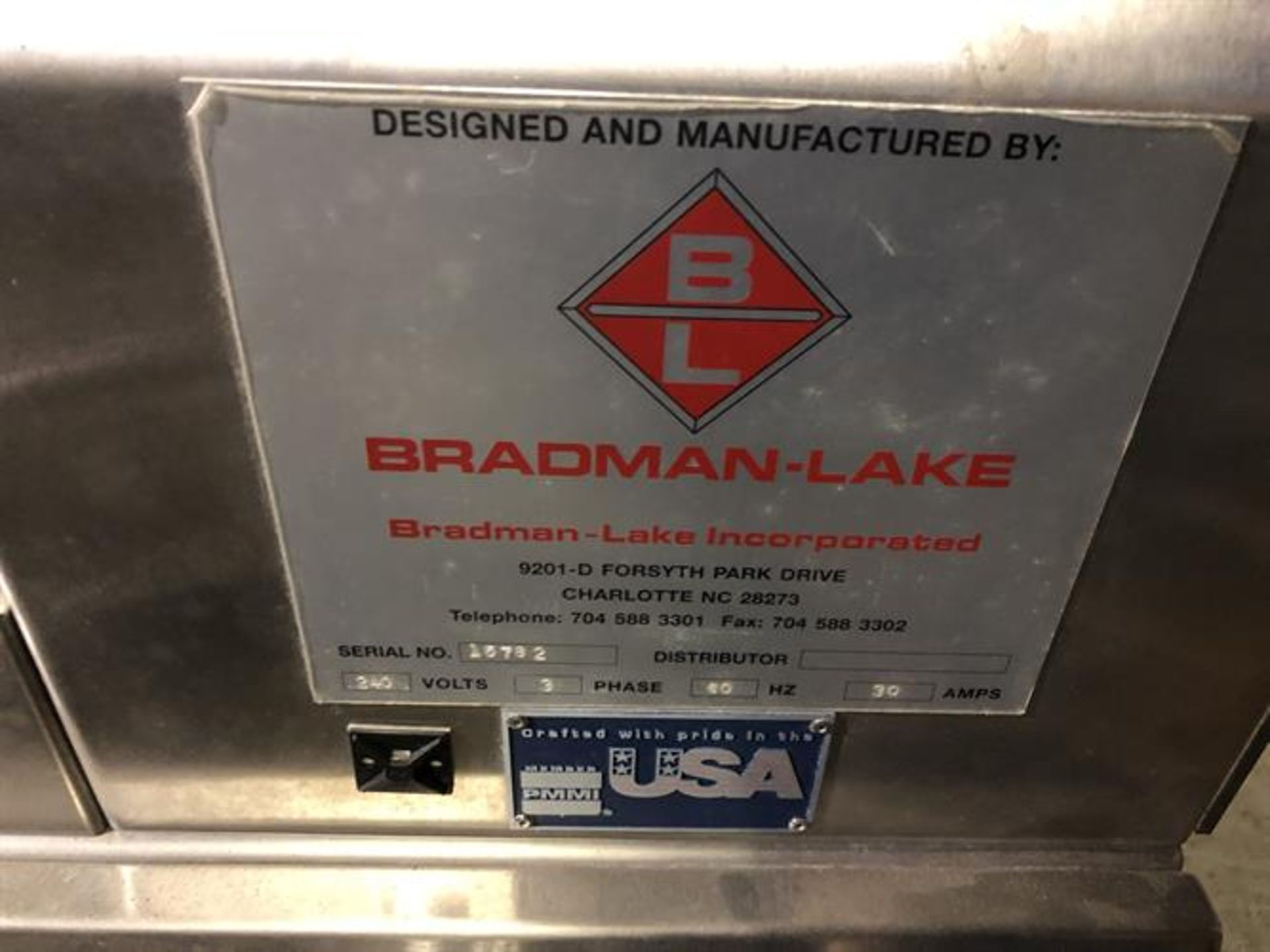 Bradman Lake inline Top Flap Sealer carton closer - Nordson Hot Melt - Allen Bradley Panelview - Image 13 of 19