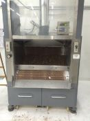 "Used DTG Finn 48"" Belt Coater - Serial number 6400 - Built in 1980's - Plastic belt - No blower it"