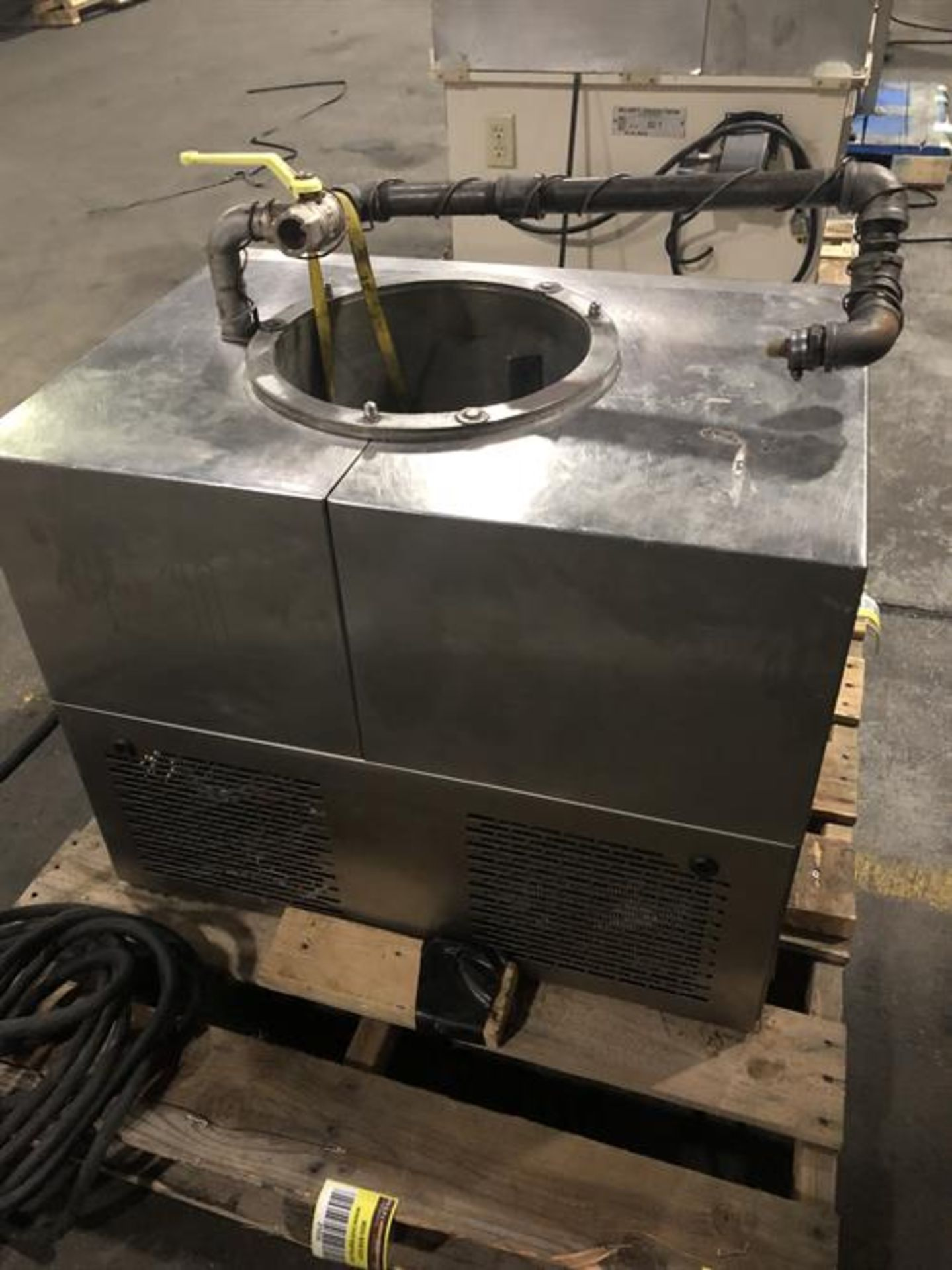 Sollich Model TF 100 Tempering Unit - Serial number 2682 - Built new in 1998 - 80kg/hour - Image 3 of 6