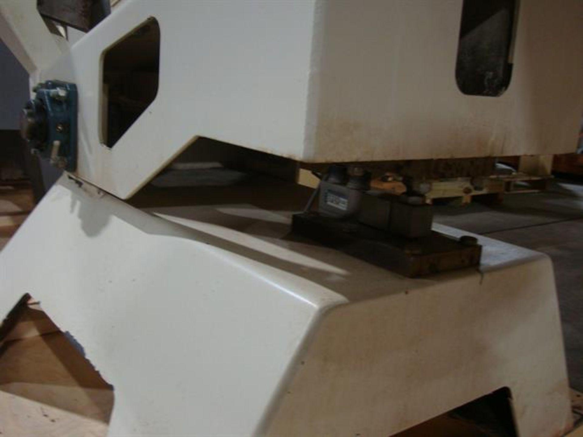 """Coating Pan 52"""" Diameter Stainless Steel Polishing Pan - 52"""" diameter - Plastic ribs screwed in from - Image 2 of 4"""