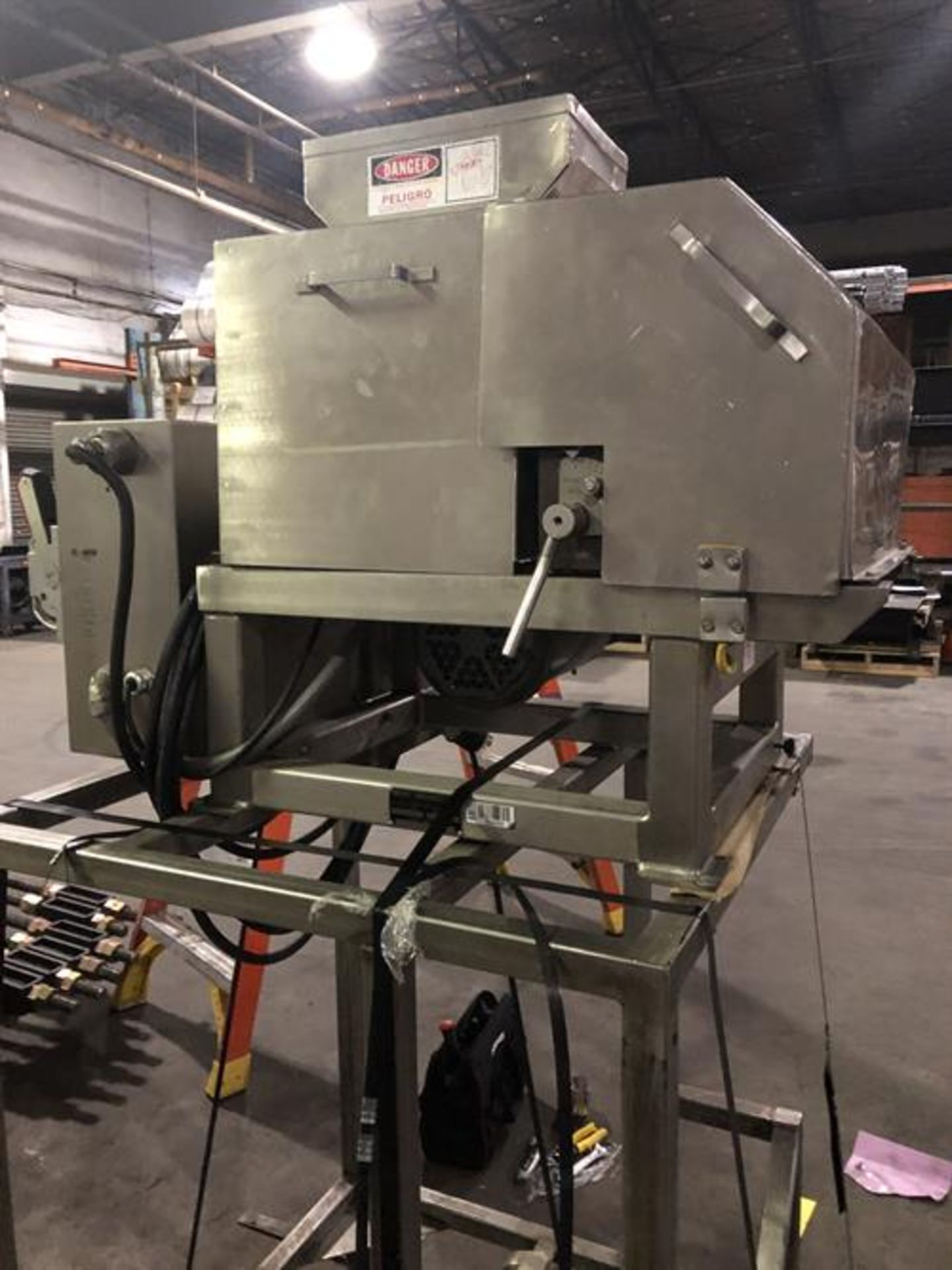 Urschel model N Stainless Steel Granulator - Vibrator pan feeder with variable speed rheostat - - Image 14 of 18