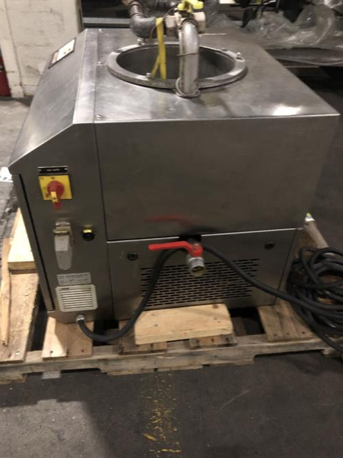 Sollich Model TF 100 Tempering Unit - Serial number 2682 - Built new in 1998 - 80kg/hour - Image 4 of 6