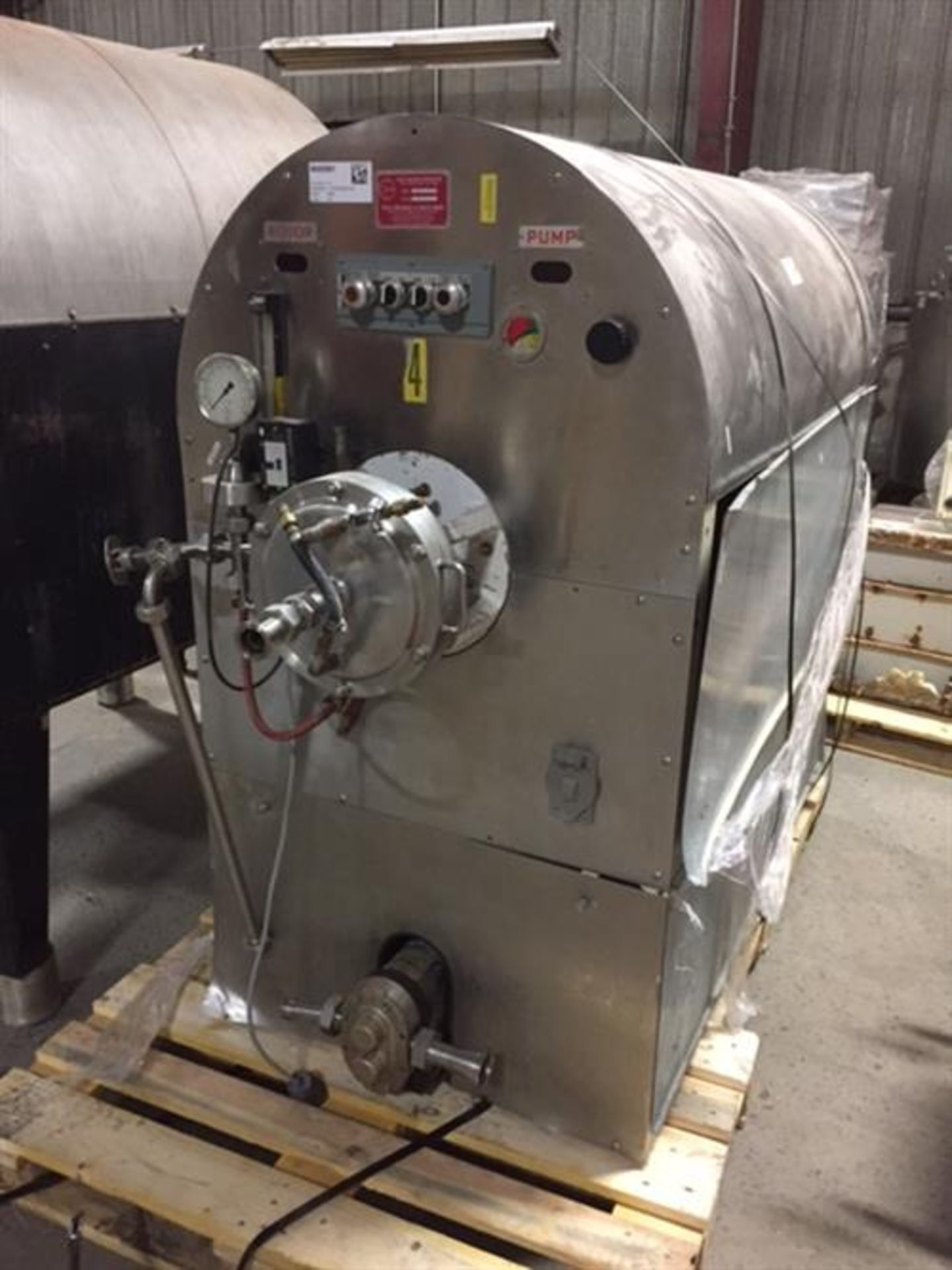 Oakes Model 10MC5 Continuous Mixer - Waukesha model 10 Stainless Steel Positive Displacement Pump - Image 2 of 10