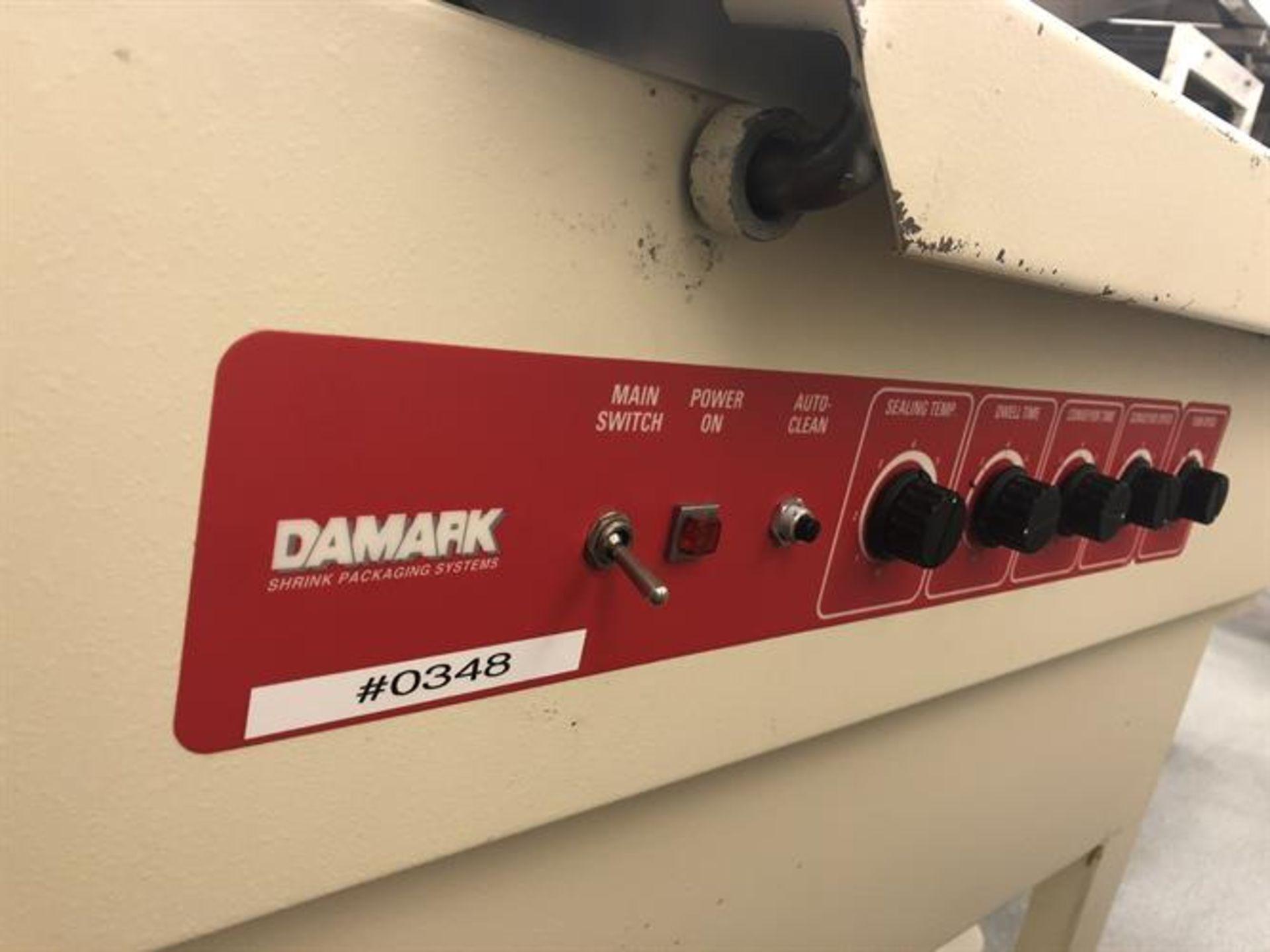 "Damark model SMC 2228 L-Bar Sealer - 22"" x 28"" sealing area - Timers and controls - Take away belt - Image 3 of 5"