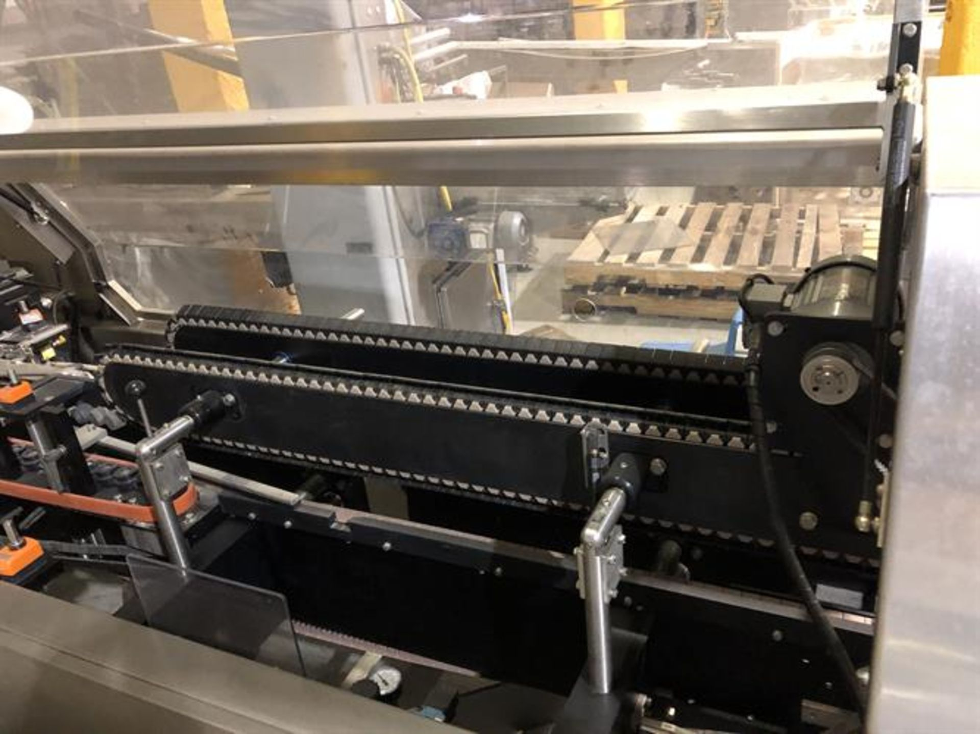 Bradman Lake inline Top Flap Sealer carton closer - Nordson Hot Melt - Allen Bradley Panelview - Image 2 of 19