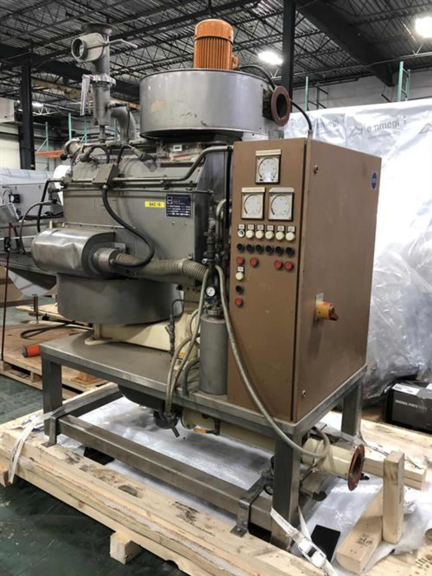 Barth Model LAB50RS 40-lb Cocoa Bean roaster - Approximately 40 lbs/batch capacity for unshelled - Image 18 of 29