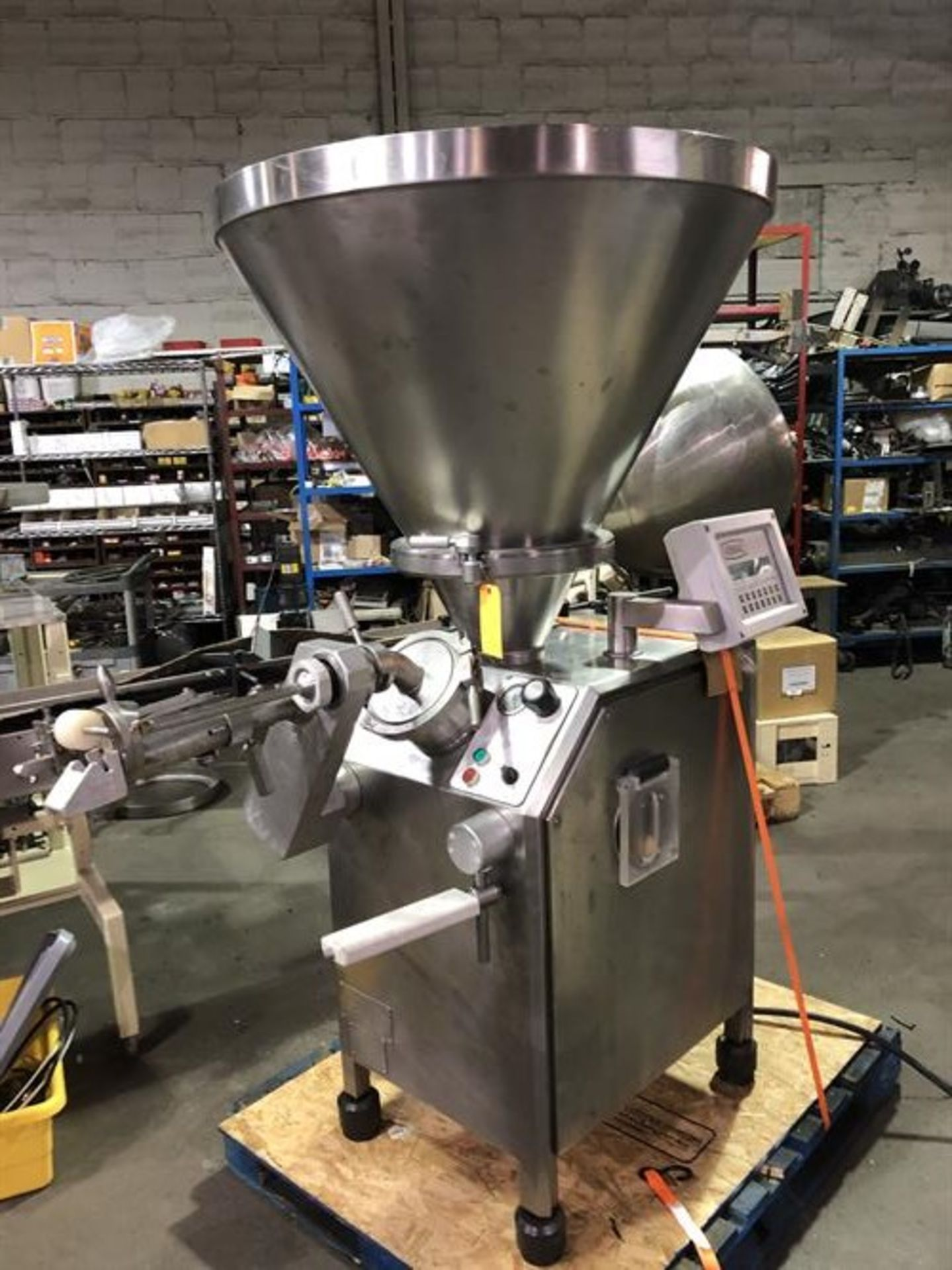 Vemag Robot 500 Stainless Steel Vacuum Stuffer - Machine has been completely reconditioned - PC