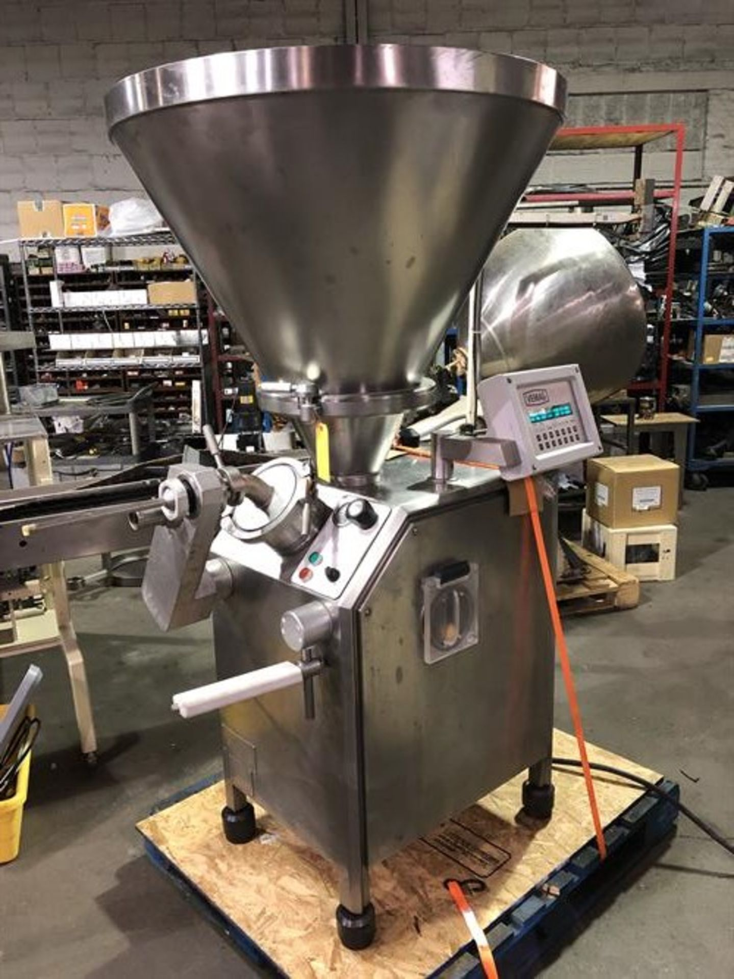 Vemag Robot 500 Stainless Steel Vacuum Stuffer - Machine has been completely reconditioned - PC - Image 5 of 31
