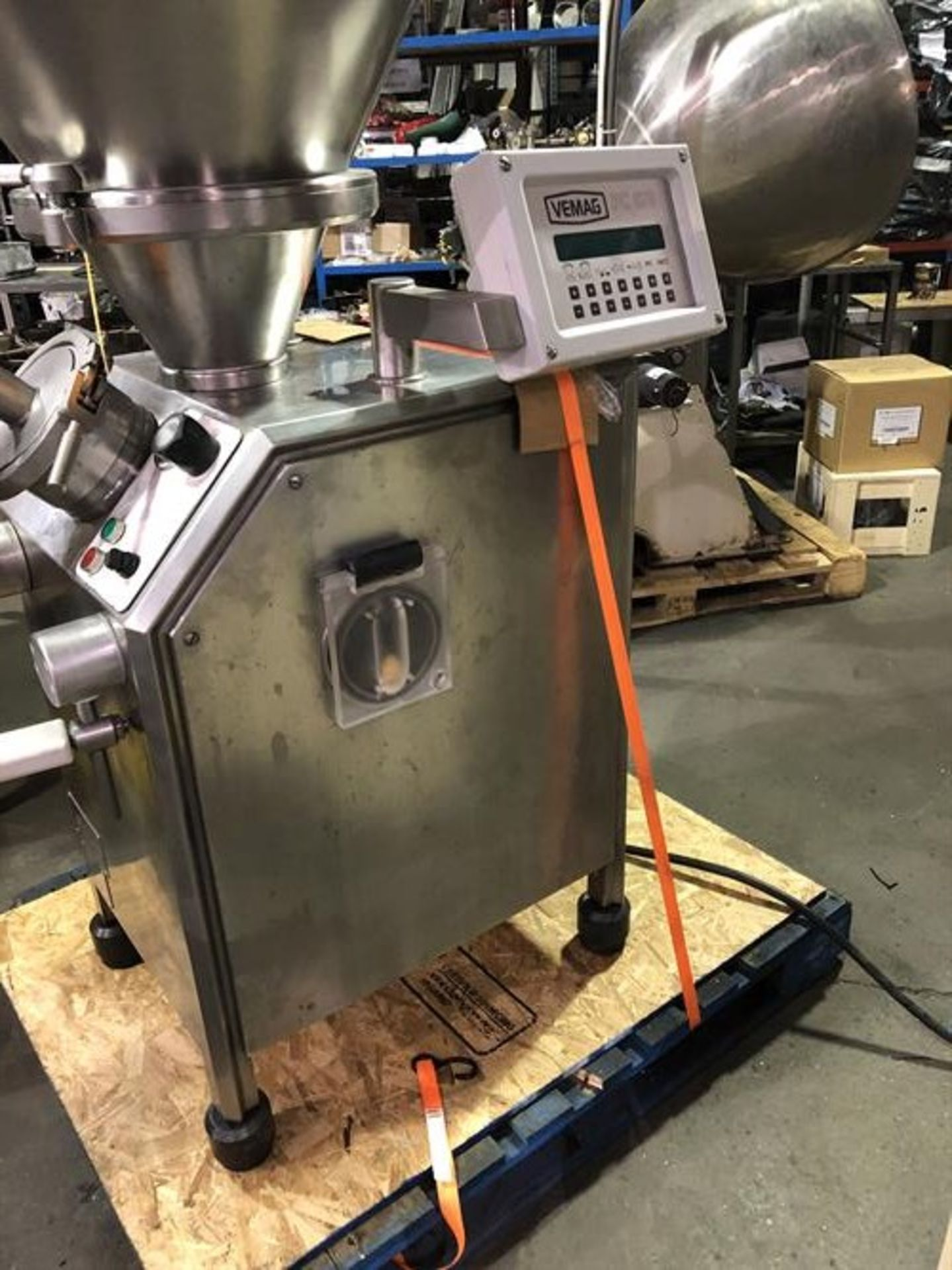 Vemag Robot 500 Stainless Steel Vacuum Stuffer - Machine has been completely reconditioned - PC - Image 19 of 31