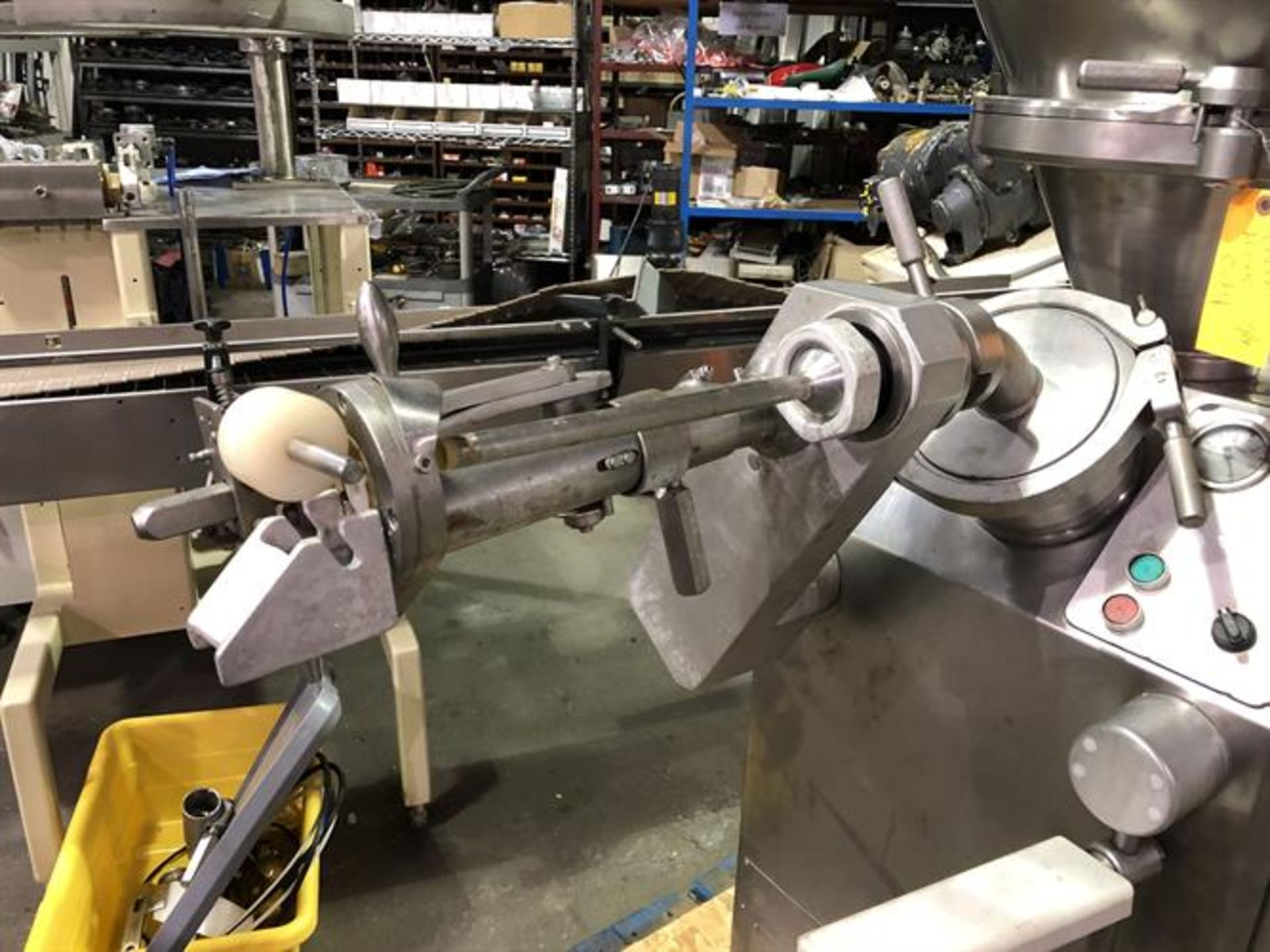 Vemag Robot 500 Stainless Steel Vacuum Stuffer - Machine has been completely reconditioned - PC - Image 13 of 31