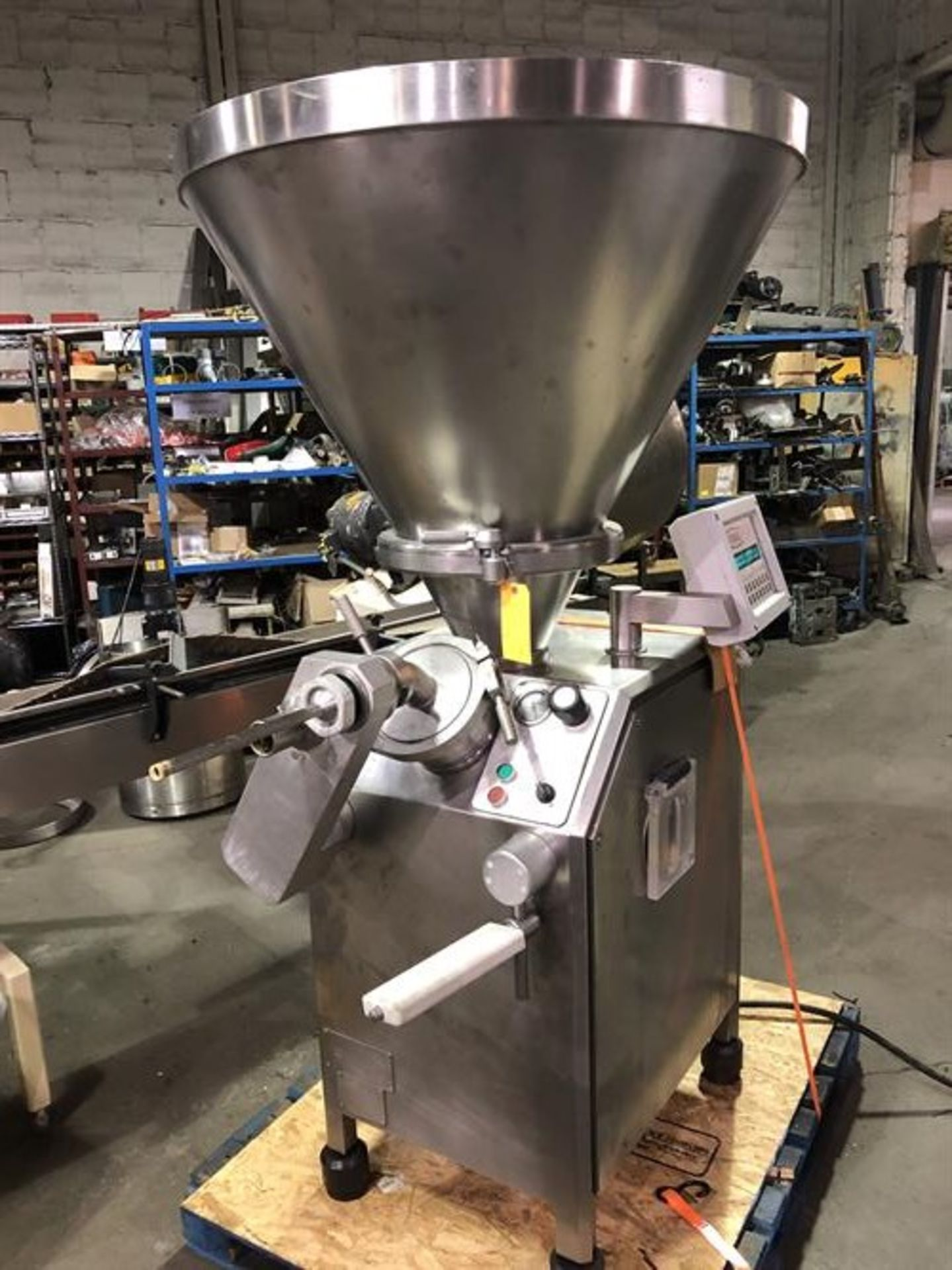 Vemag Robot 500 Stainless Steel Vacuum Stuffer - Machine has been completely reconditioned - PC - Image 6 of 31
