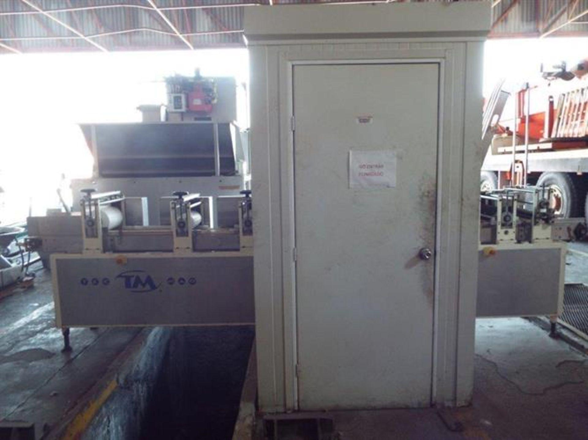 Tecmaq 290 mm Wide Slab Forming Line - Model TM-6H built 2012 - Three sets of gauging/sheeting - Image 2 of 30