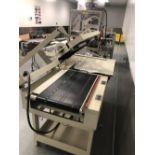 "Damark model SMC 2228 L-Bar Sealer - 22"" x 28"" sealing area - Timers and controls - Take away belt"