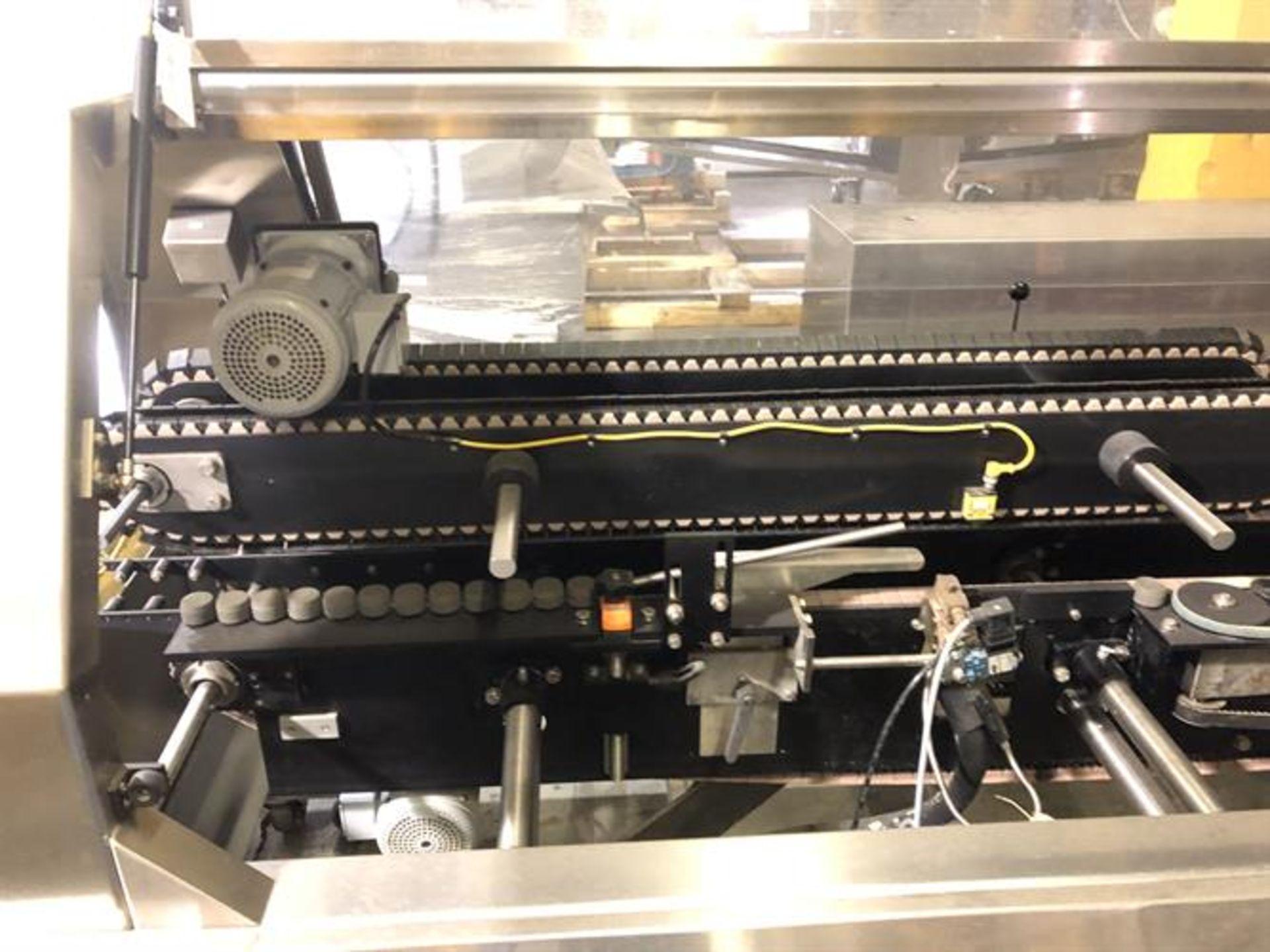 Bradman Lake inline Top Flap Sealer carton closer - Nordson Hot Melt - Allen Bradley Panelview - Image 7 of 19