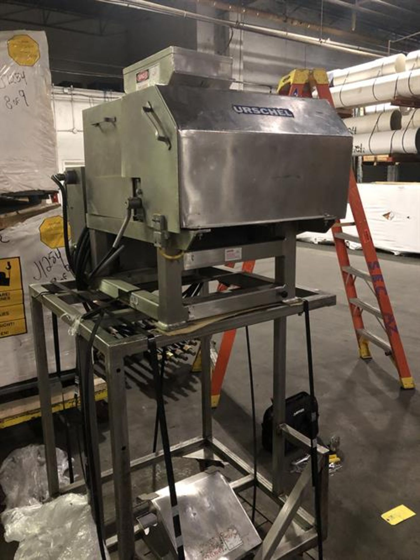 Urschel model N Stainless Steel Granulator - Vibrator pan feeder with variable speed rheostat - - Image 13 of 18