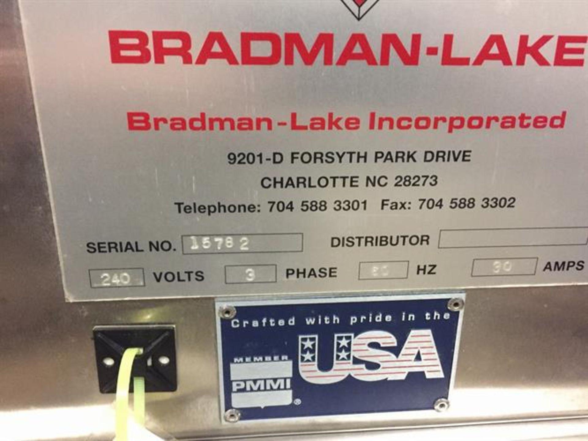 Bradman Lake inline Top Flap Sealer carton closer - Nordson Hot Melt - Allen Bradley Panelview - Image 15 of 19