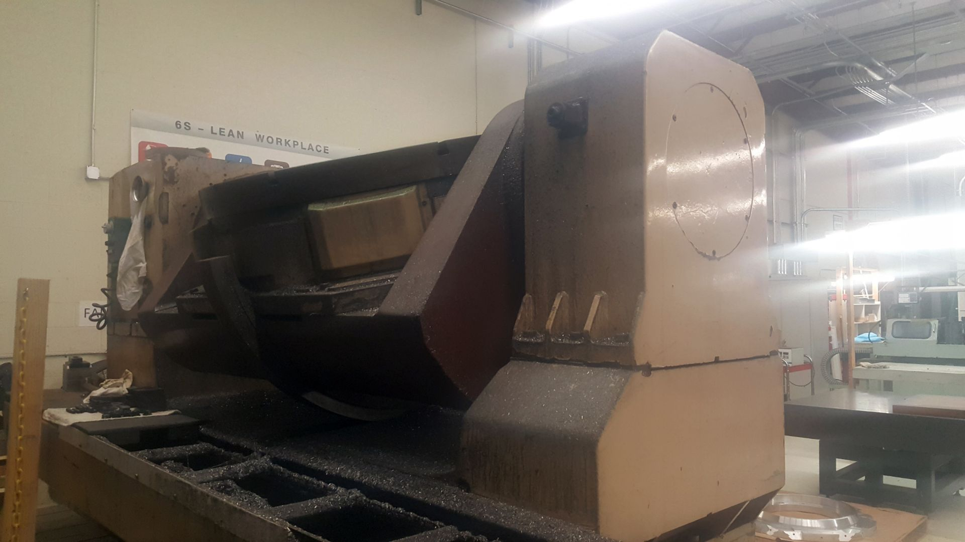 """Lot 1 - Mandelli 5 Axis CNC Horizontal Machining Center With 43"""" Trunnion Rotary Table"""