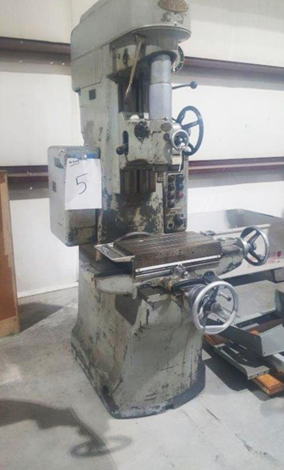Lot 5 - Moore # 2 Jig Boring Machine, S/N 5300