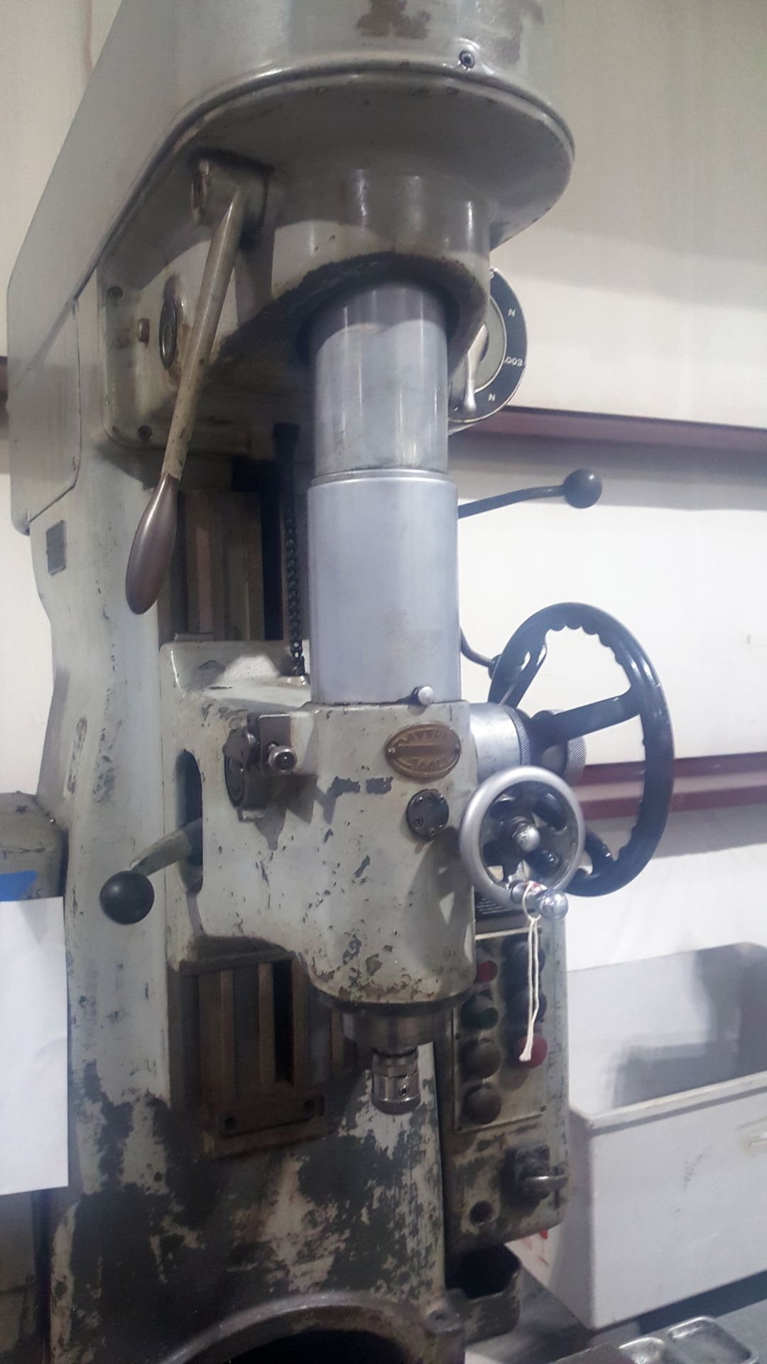 Moore # 2 Jig Boring Machine, S/N 5300 - Image 3 of 5
