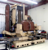 """Mandelli 5 Axis CNC Horizontal Machining Center With 43"""" Trunnion Rotary Table"""