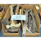 Lot-Hammers, Wrenches and Spanner Wrenches in (2) Boxes
