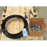 """Lot-(2) Reels of 3/4"""" Steel Banding, with Clips, Tensioner and Crimper on (1) Pallet"""
