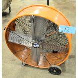 "MAX AIR PRO 30"" Portable Drum Fan"