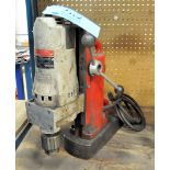 MILWAUKEE Model 4221 Electric Magnetic Base Drill Press,