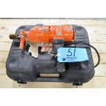 WEKA Model DK 1203 Electric Handheld Diamond Core Drill with Case
