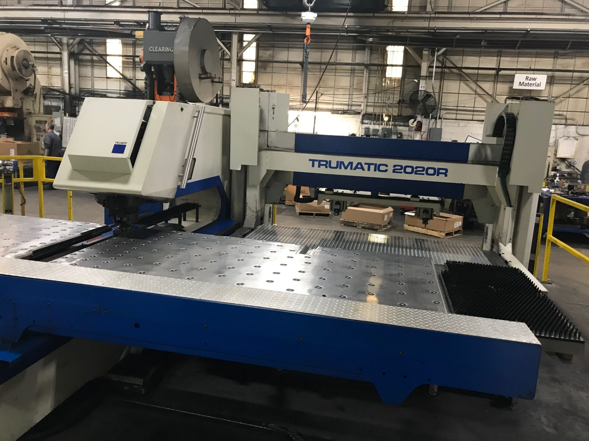 "Lot 2 - Trumpf TC 2020R CNC Punch w/ Sheetmaster Compact LUL, 22 Ton, 48"" x 96"" Sheet Capacity, Tooling"