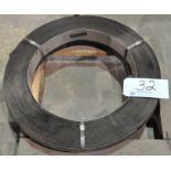 """Lot-(1) Spool of 2"""" and (1) Spool of 3/4"""" Steel Banding on (1) Pallet"""
