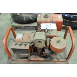 Milwaukee Approx. 3,000-Watts Capacity Gasoline Powered AC Generator 125/250-Volts, Portable
